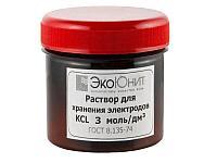 Калий хлористый KCl раствор 3 Моль для хранения электродов