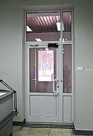 Дверь алюминиевая одностворчатая