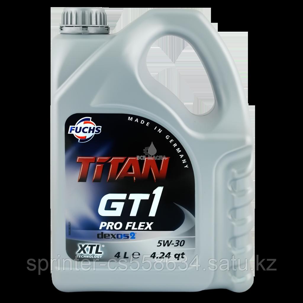 Моторное масло TITAN GT1 PRO FLEX 5w30 4 литра