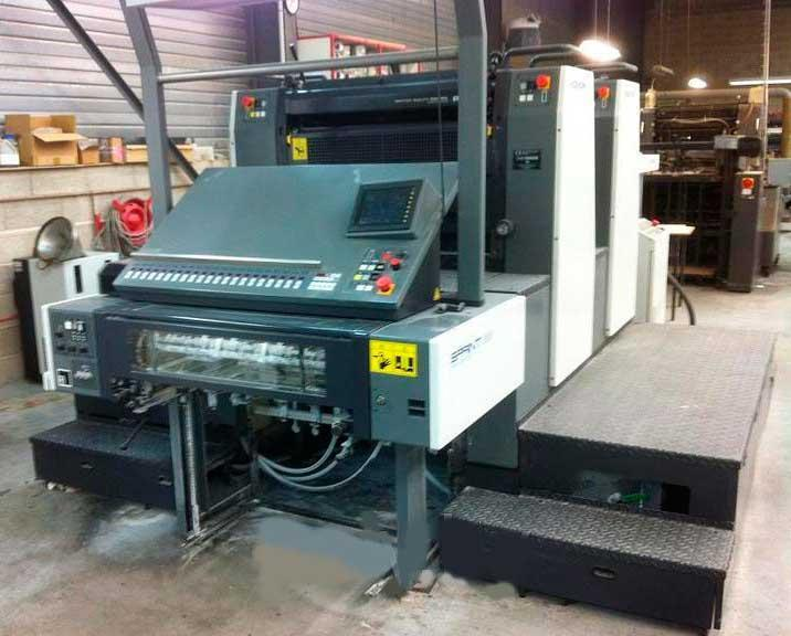 Печатная машина Komori Sprint GS 228 2007 10 мил. 2+0