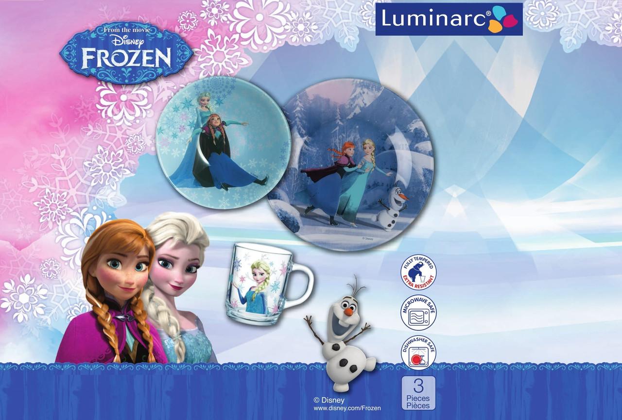 Детский набор Luminarc Disney Frozen (3 пр.)