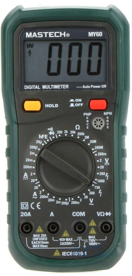 Цифровой мультиметр Mastech MY60