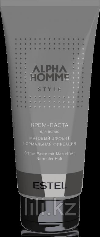 Крем – паста для волос с матовым эффектом ALPHA HOMME STYLE, 100 мл.