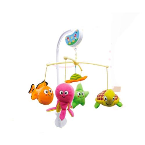 Biba toys музыкальный мобиль ЗВЕРЯТА