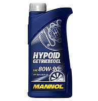 Трансмиссионное масло MANNOL Hypoid GL-5/GL-4 LS 80W90 1 литр