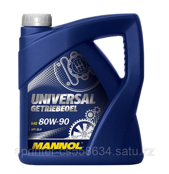 Трансмиссионное масло MANNOL Universal GL-4 80W90 4 литра