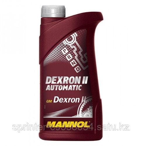 Трансмиссионное масло MANNOL ATF DII 1 литр