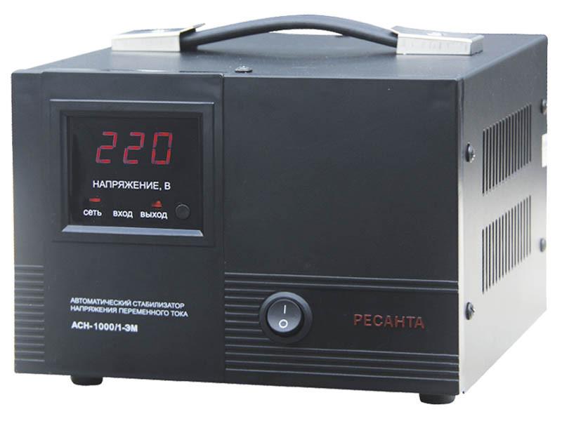 Стабилизатор напряжения Ресанта  ACH-1000/1-ЭМ (электромеханический)