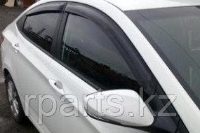 Дефлекторы боковых окон для Hyundai Accent