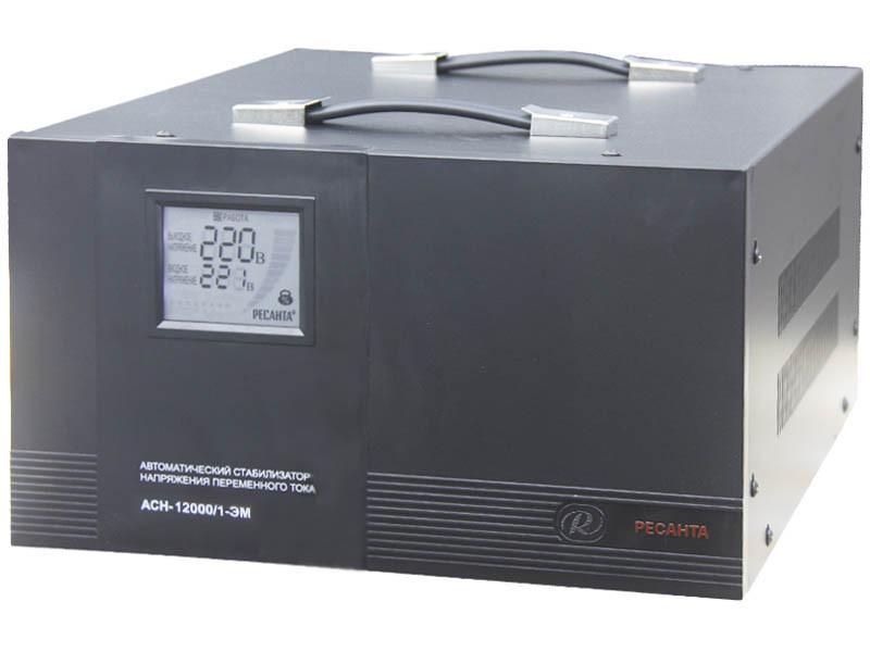 Стабилизатор напряжения Ресанта  ACH-12000/1-ЭМ (электромеханический)