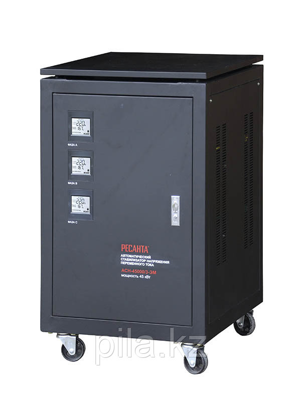 Стабилизатор напряжения Ресанта ACH-45000/3-ЭМ (трёхфазный)