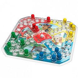 Spin Master 6036439 Настольная игра 2-в-1 с кубиком и фишками + карточки Memory Щенячий Патруль