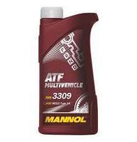 Трансмиссионное масло MANNOL ATF Multivehicle 1 литр