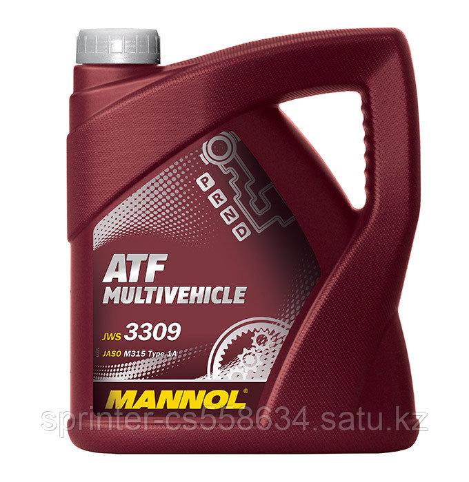 Трансмиссионное масло MANNOL ATF Multivehicle  4 литра