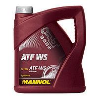 Трансмиссионное масло MANNOL ATF WS Automatic Special 4 литра