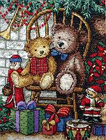 """Набор для вышивания крестом """"Новогодние подарки"""""""