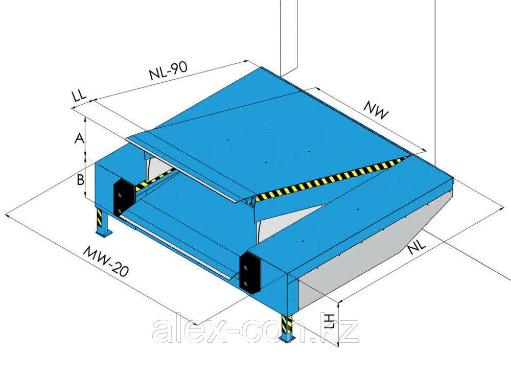 Перегрузочная рампа с гидравлической платформой PAS