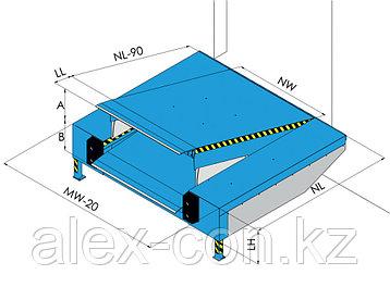 Перегрузочная рампа с гидравлической платформой PAS, фото 2