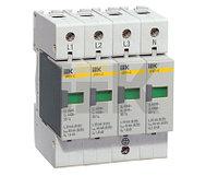 Разрядник ОПС1-C 4P Ограничитель импульсного перенапряжения MOP20-4-C IEK