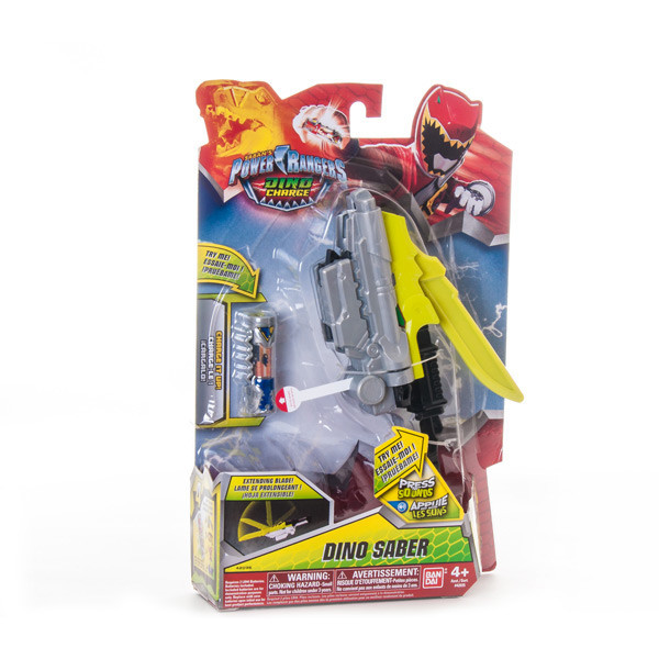 Power Rangers Dino Charge 42035D Пауэр Рейнджерс Дино-оружие, в ассортименте