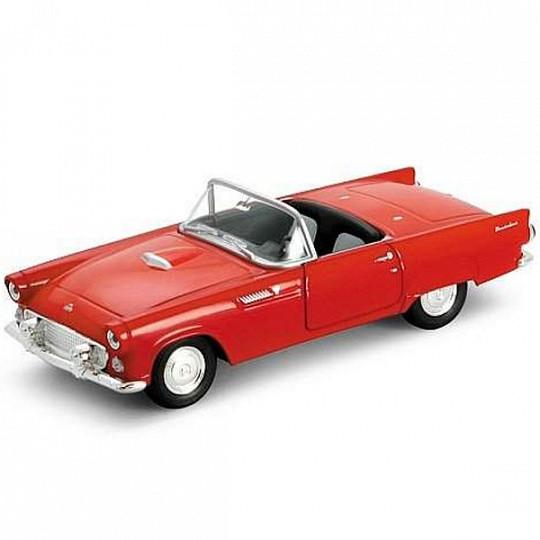 Welly 42366 Велли Модель винтажной машины 1:34-39 Ford Thunderbird 1955