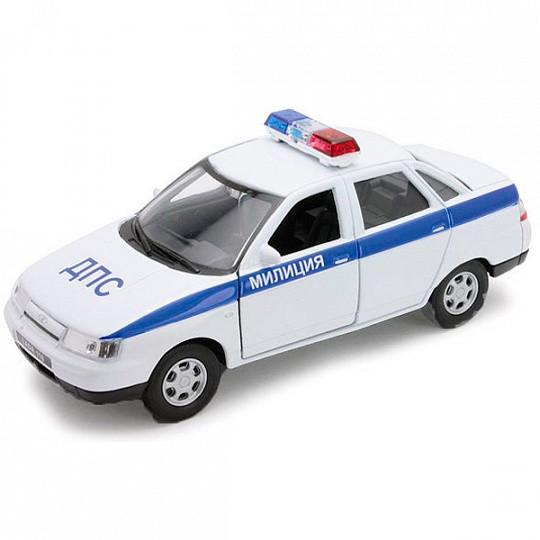Welly 43645PB Велли модель машины 1:34-39 LADA PRIORA ПОЛИЦИЯ