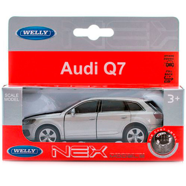 Welly 43706 модель машины 1:34-39 Audi Q7