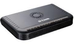 D-Link 4-портовый шлюз VoIP (SIP) 4  FXS интерфейса для подключения до четырех  телефонов или факсов.