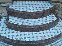 Плиточная мозаика из натурального камня, 310x310 мм