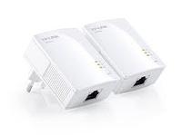 Комплект мини Powerline адаптеров, обеспечивающих соединение со скоростью до 200 Мбит/с,