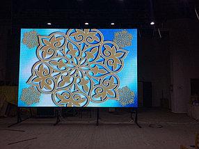 Лед экран P5 1,92м*3,2м   c кейсом для арендного бизнеса, фото 3
