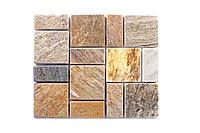 Плиточная мозаика из натурального камня, 320x275 мм
