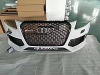 Передний бампер RS для Audi Q5 2013-2015, фото 1
