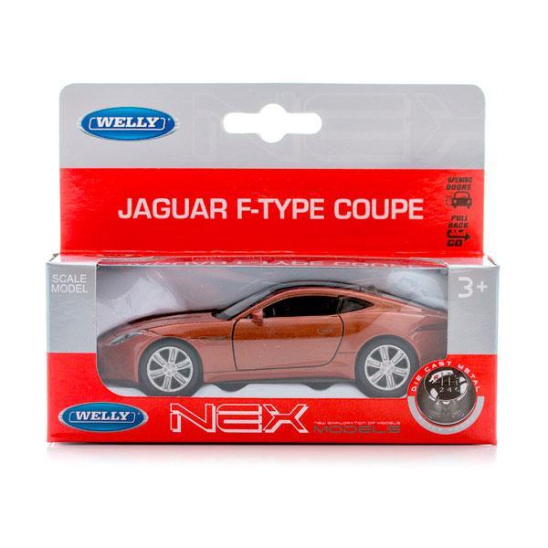Welly 43699 Велли модель машины 1:34-39 Jaguar F-Type Coupe