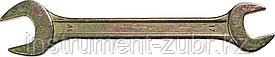 Рожковый гаечный ключ 17 x 19 мм, DEXX