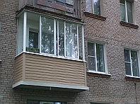 Остекление балконов алюминиевым профилем, фото 1