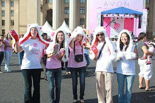 Подготовка и участие в марше AVON «Вместе против рака груди» 2011 г.