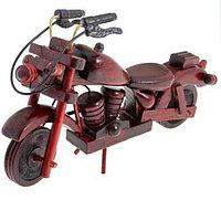 Ретро мотоцикл, размер 4×11×16см, дерево