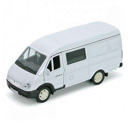 Welly 42387B Велли Модель машины 1:34-39 ГАЗель фургон с окном