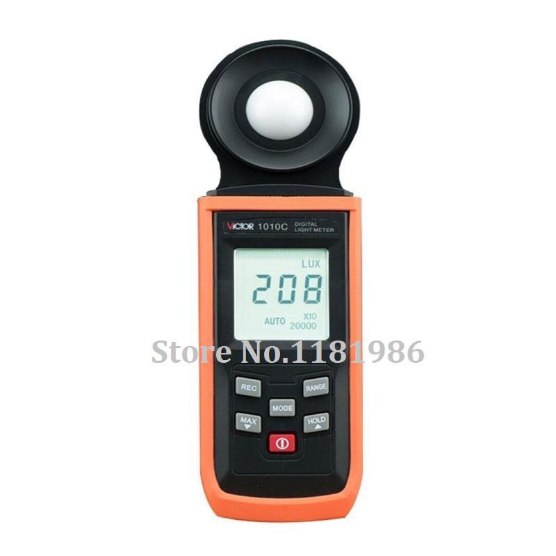 Люксметр VICTOR 1010C/для измерения освещенности/