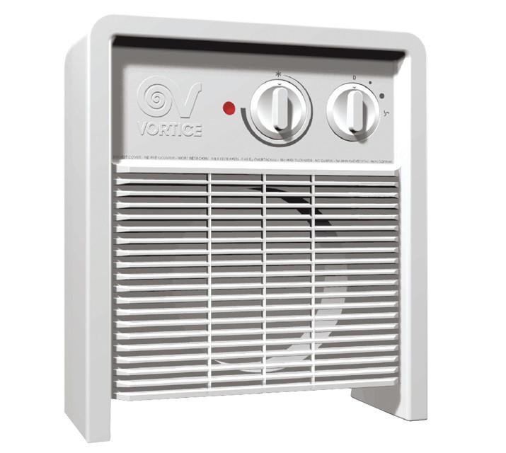 Переносной тепловентилятор Scaldatutto classic