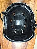 Каска тактическая пластиковая с возможностью установки экшен-камеры, фото 2