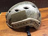 Каска тактическая пластиковая с возможностью установки экшен-камеры, фото 6