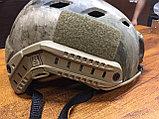 Каска тактическая пластиковая с возможностью установки экшен-камеры, фото 3