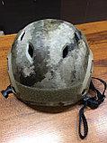 Каска тактическая пластиковая с возможностью установки экшен-камеры, фото 7