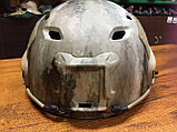 Каска тактическая пластиковая с возможностью установки экшен-камеры, фото 4