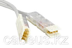 Hyperline PC-110-110-2P-C5-1M-GY Патч-корд 110 тип-110 тип, 2 пары, Cat.5, 1 м, серый