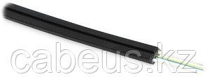 Hyperline FO-FTTH-IN-9A1-8-LSZH-BK (Уцененка) Кабель волоконно-оптический 9/125 (OS2, G.657.А1) одномодовый, 8 волокон, самонесущий, со свободно