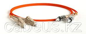 Hyperline FC-D2-50-LC/PR-ST/PR-H-5M-LSZH-OR Патч-корд волоконно-оптический (шнур) MM 50/125, ST-LC, 2.0 мм, duplex, LSZH, 5 м