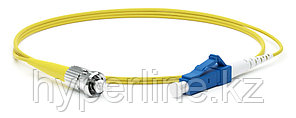 Hyperline FC-S2-9-LC/UR-ST/UR-H-15M-LSZH-YL Патч-корд волоконно-оптический (шнур) SM 9/125 (OS2),